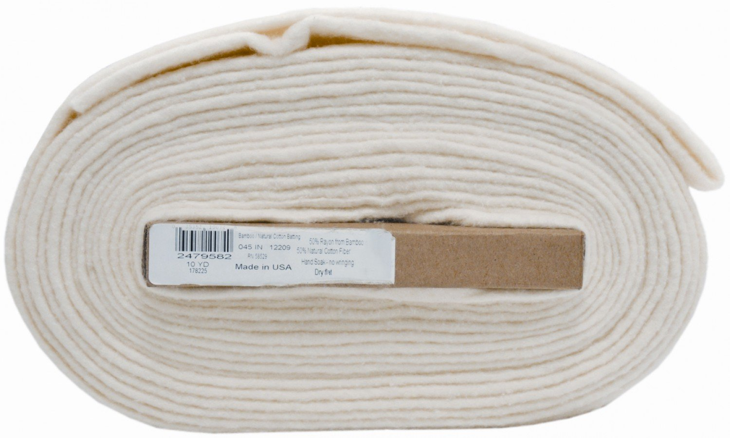 Bamboo/Cotton Blend Batting 45in