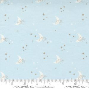 Little Ducklings - Blue Moons by Paper & Cloth for Moda