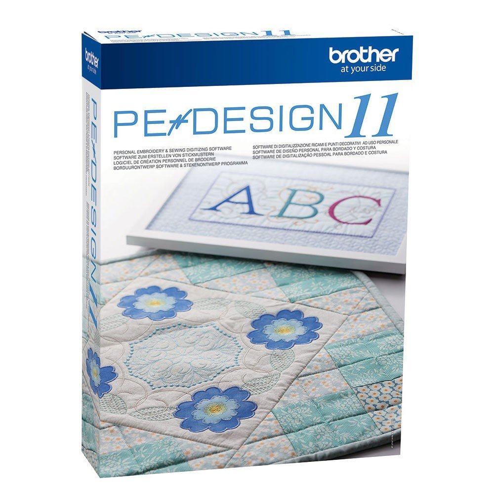 Brother Embroidery Software PE Design 11
