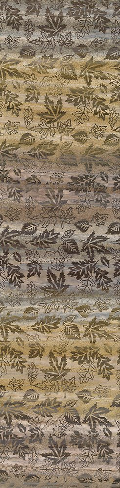 Falling Leaves - Brown Gradiations by Shania Sunga Batiks