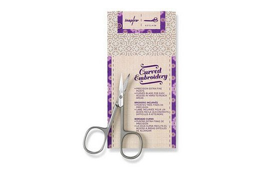 Curved Embroidery Scissor 4.5