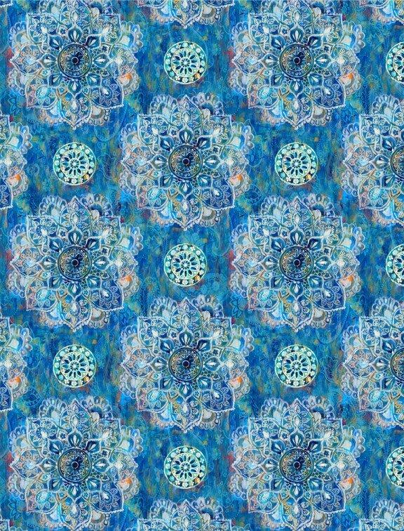 Bohemian Dreams - Mandalas by Danhui Nai for Wilmington Prints