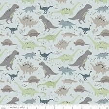 Fossil Rim Flannel - Dinos By Deena Rutter by Riley Blake