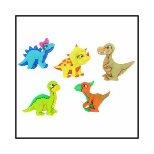 Dress it Up - Dino-mite Buttons