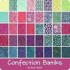 Confection Batiks Layer Cake by Kate Spain for Moda