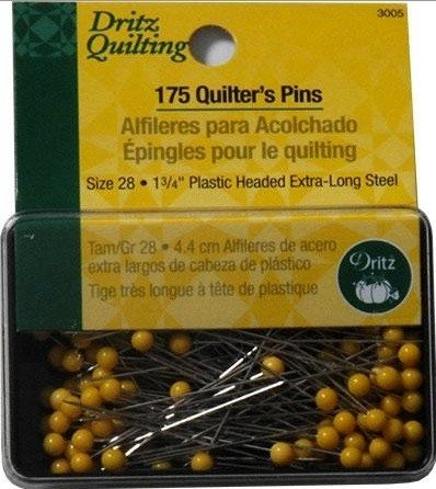 Dritz - Quilting Pins - 1 3/4 (44mm) 175 pc
