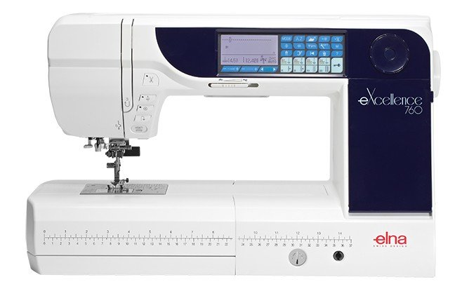Elna eXellence 760 Sewing & Quilting Machine - Previously Loved