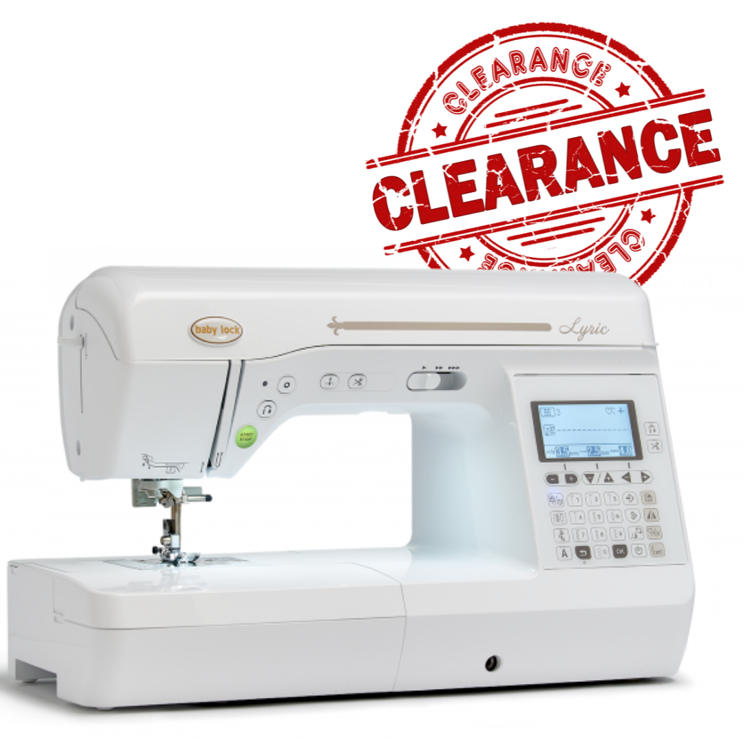 Babylock Lyric Sewing and Quilting Machine - Open Box - CLEARANCE