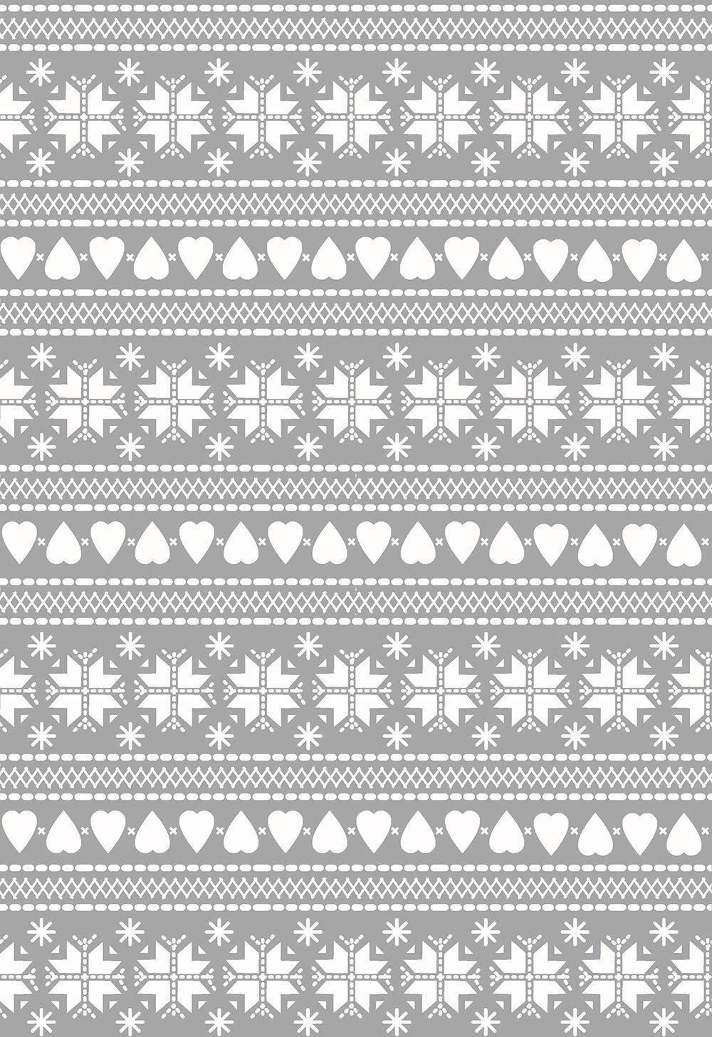 Nordic Hygge - Sweater Print Grey