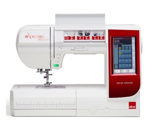 Elna eXpressive EL860 Sewing & Embroidery Machine