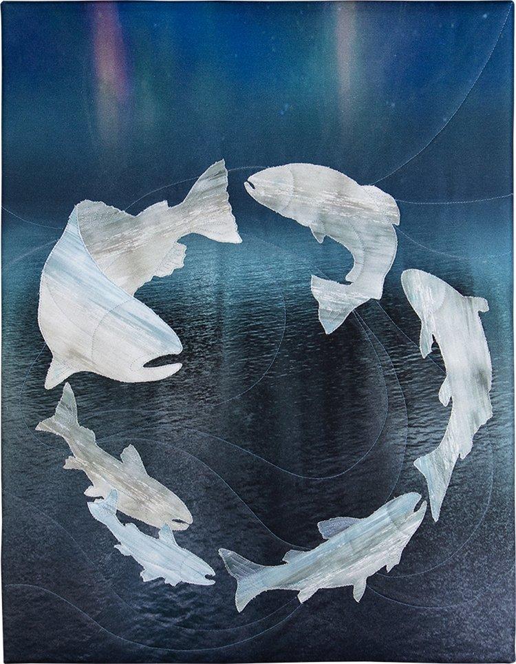 McKenna Ryan - Emerald Valley - Fish Applique Kit - 30% OFF