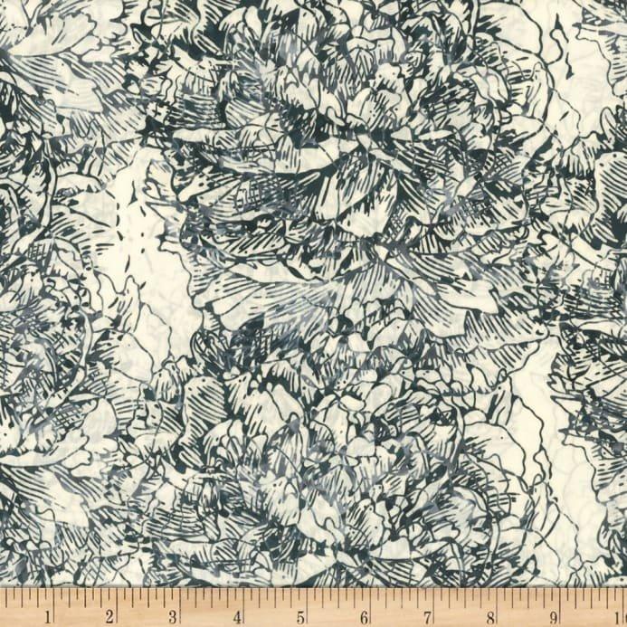 Bali Batiks - Graphite by Hoffman