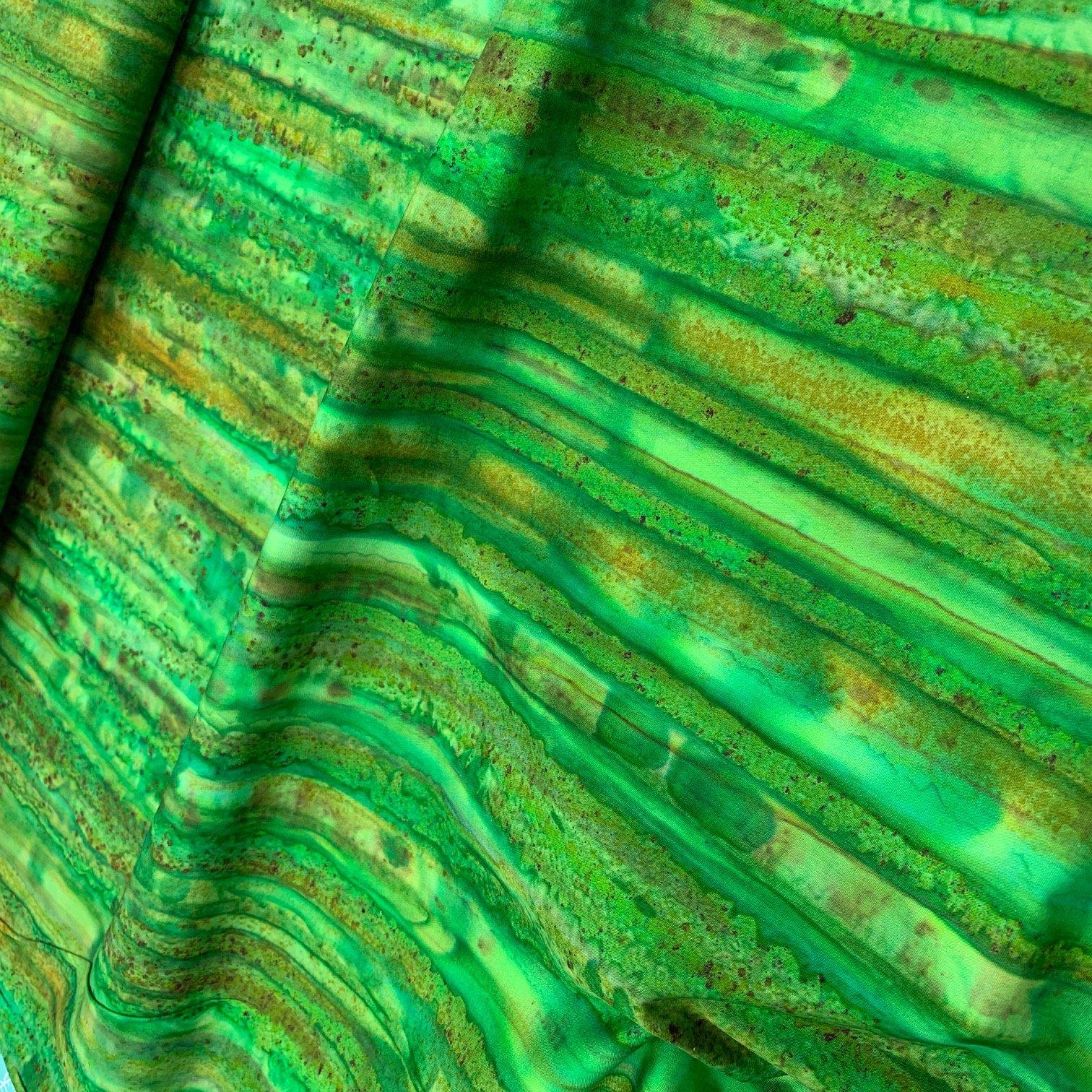 Batik Textiles Green 231