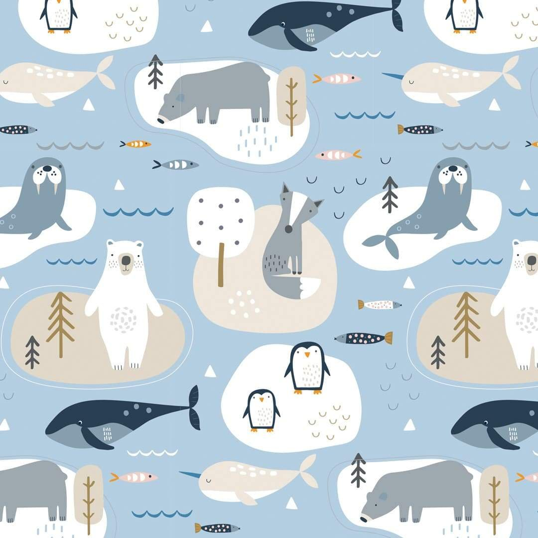 Habitat - Blue Up in the Arctic by Dashwood Studio