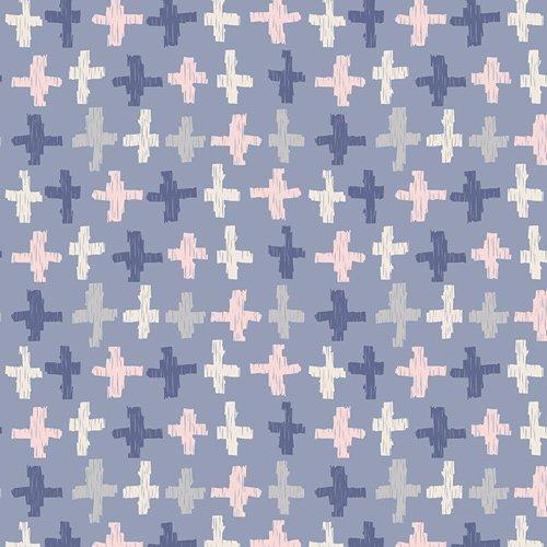 Joy Crossroads Azure Knit - 60 - Art Gallery Fabrics (AGF)