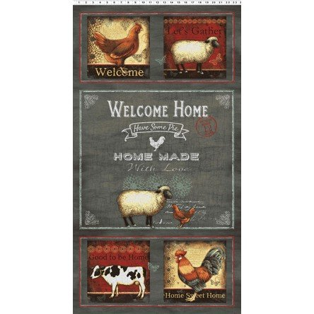 Good To Be Home By Robin Davis - Panel Welcome Home 50% OFF!