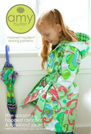 Little Splashes Raincoat Pattern by Amy Buttler
