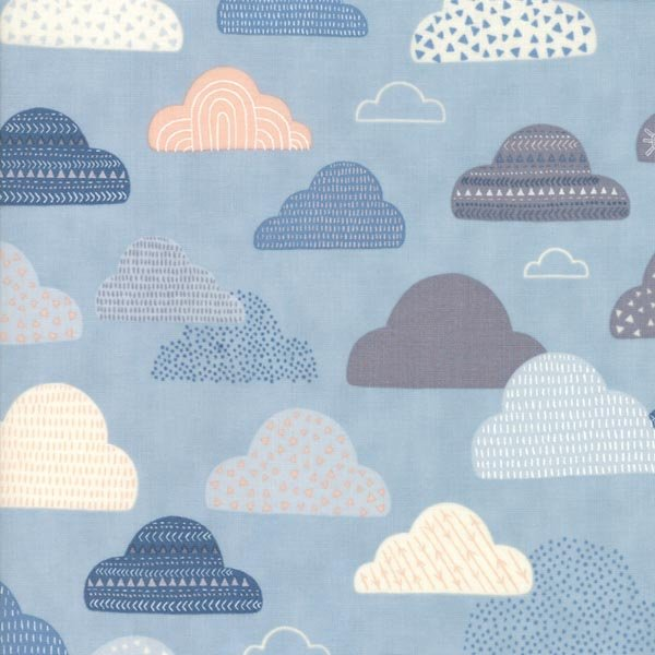 Wild & Free - Cloud Sky -  By Abi Hall for Moda 30% Off!