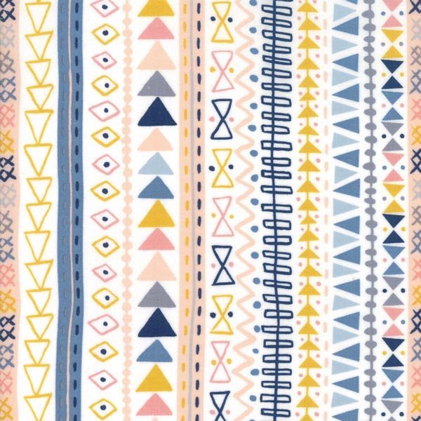 Wild & Free - Stripes on White - By Abi Hall for Moda 30% Off!