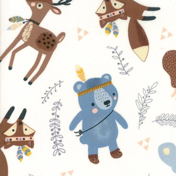 Wild & Free - Animals - By Abi Hall for Moda 30% OFF!