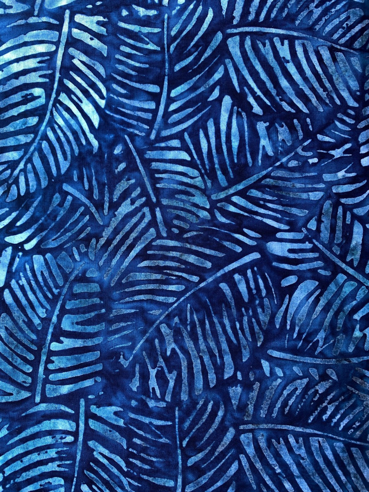 Batik by Mirah - Navy Notes