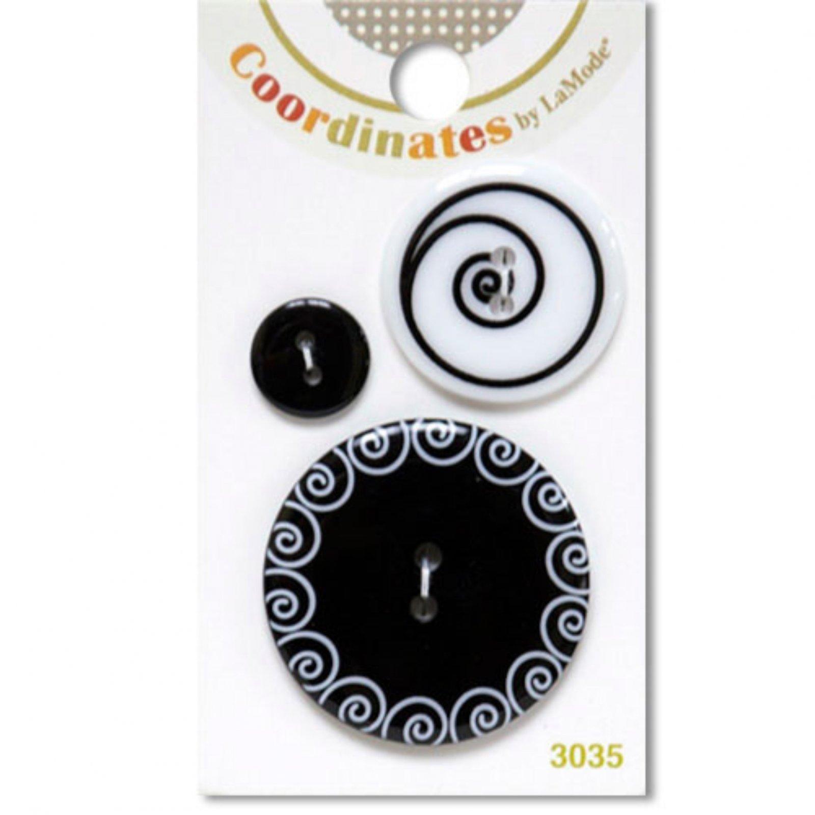 Coordinates by LaMode - Art Nouveau Buttons