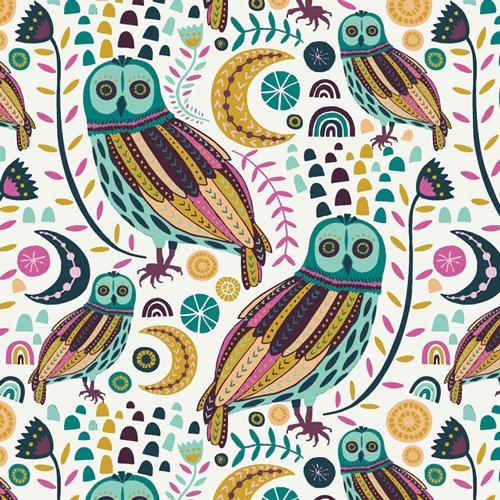 Art Gallery Fabrics (AGF) - LUGU - Sova Nightlight by Jessica Swift - 30% OFF!
