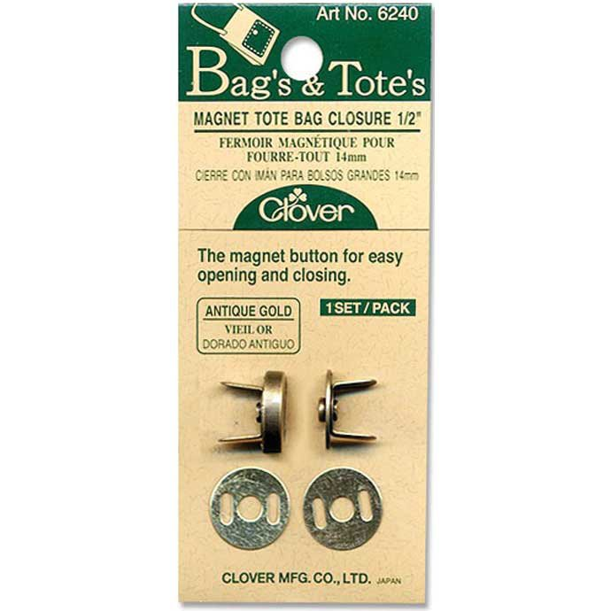 Clover Magnetic Snap Closure 1/2