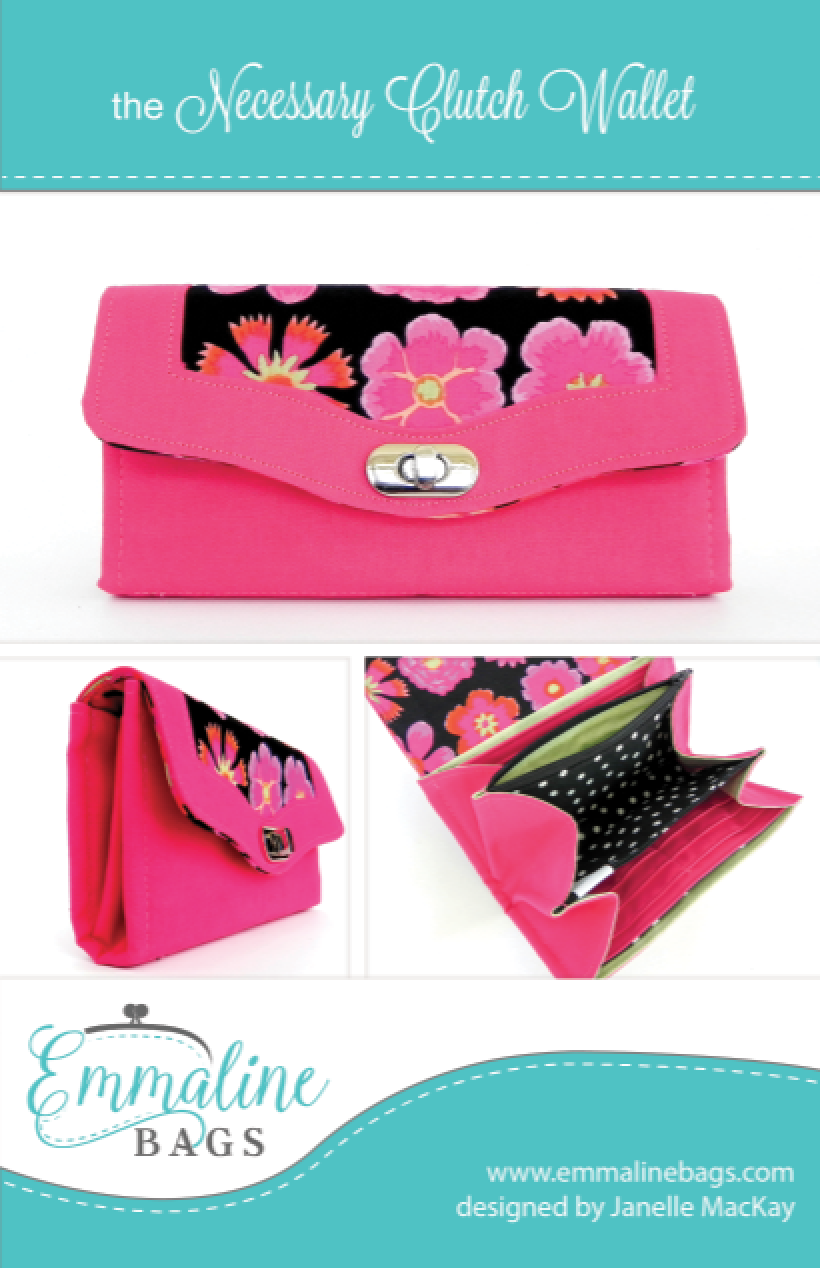 The Necessary Clutch Wallet Pattern
