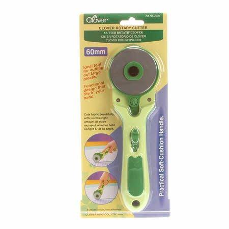 Clover 60mm Soft Grip Rotary Cutter