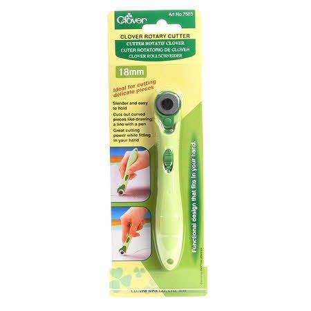 Clover Rotary Cutter18mm soft grip