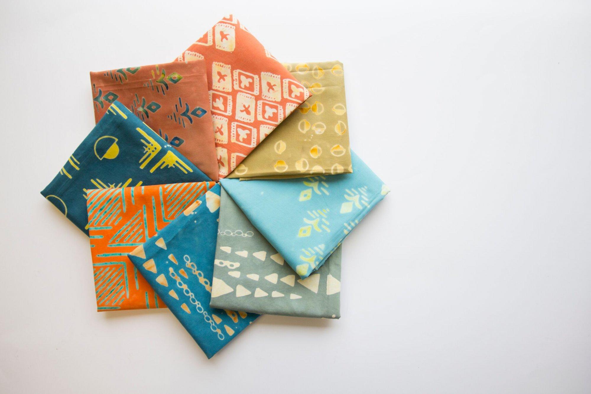 Tie one On 15 Piece Fat Quarter Bundle Sedona