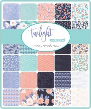 Twilight Mini Charm Pack (2.5 x 42 pc) by One Canoe Two
