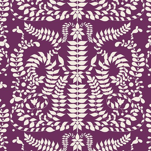 Art Gallery Fabrics (AGF) - Virtuosa - Chorus Mirror Viola by Bari J.
