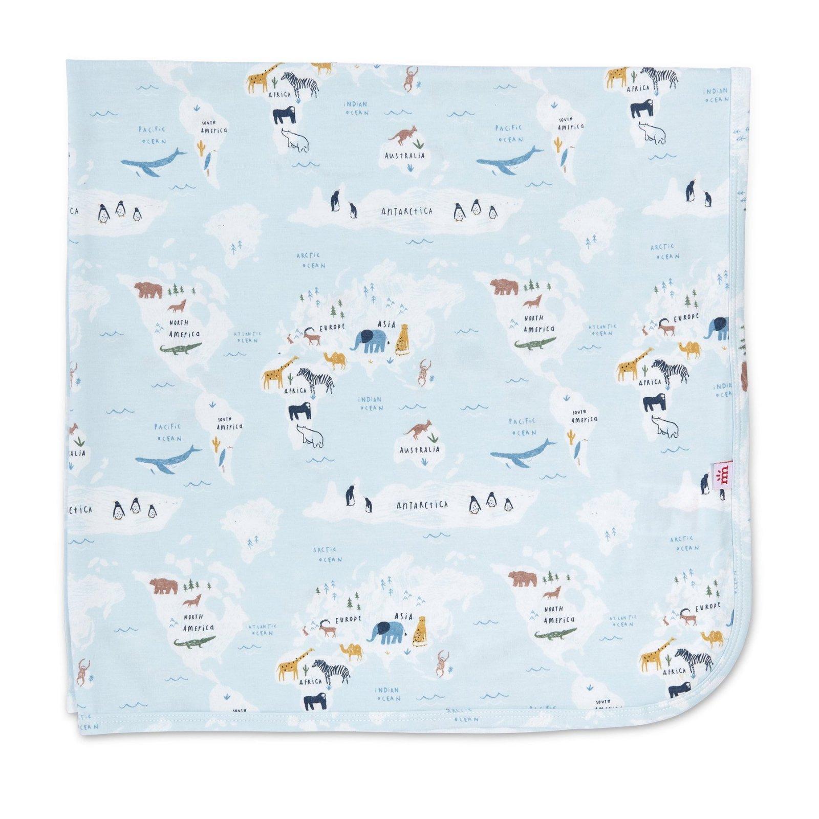 Sea the World Modal Blanket