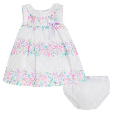 Mayoral Infant Lilac Printed Dress