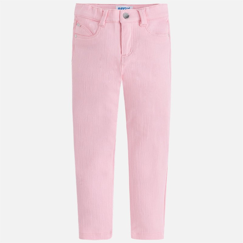A Mayoral Rose Twill Pants