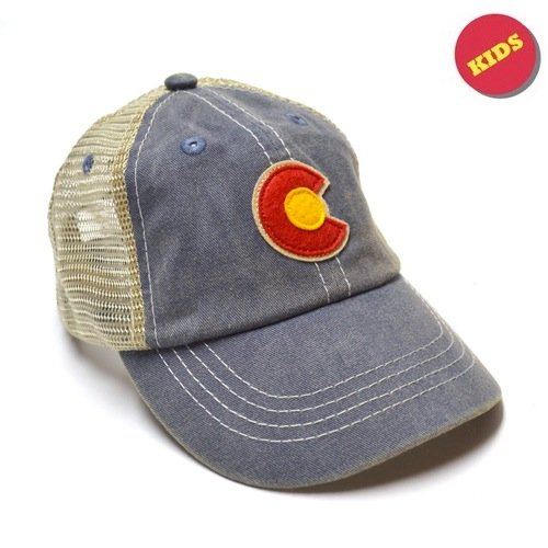 Colorado Kid's Vintage Hat