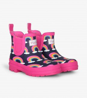 A Hatley Rainbow Splash Boots