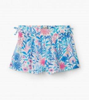 A Hatley Indigo Floral Shorts