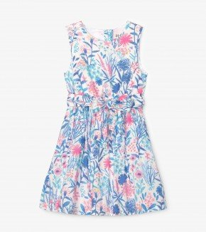 A Hatley Indigo Floral Dress