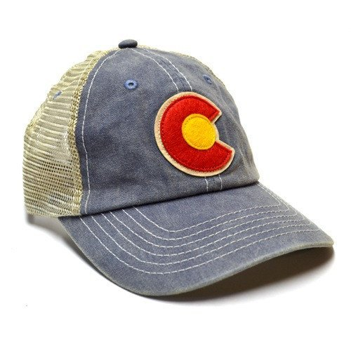 Adult Colorado Vintage Denim Hat