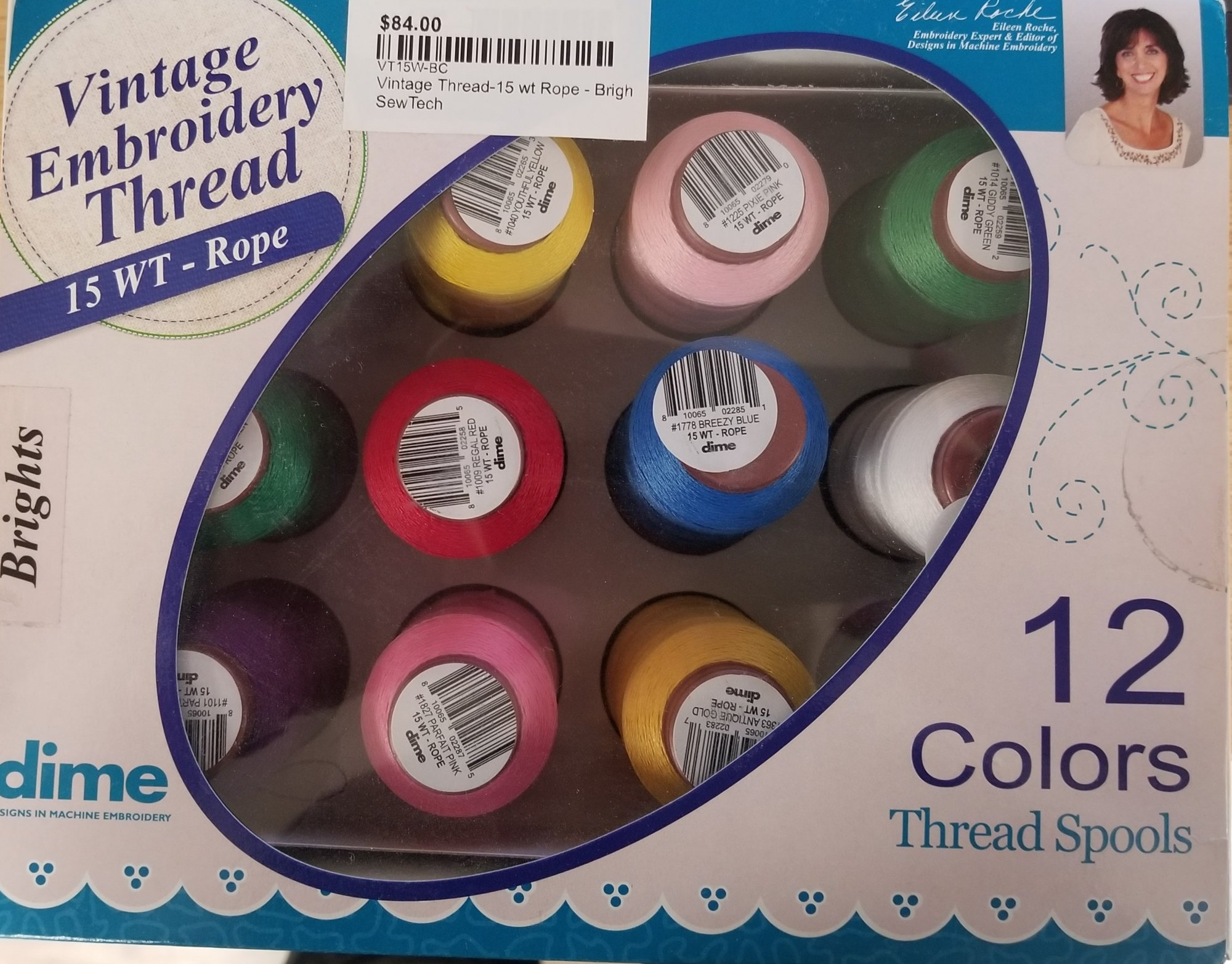 Vintage Thread 15 wt Rope Bright Collection