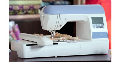 Brother PE770 5x7 Embroidery Machine with Floriani Encore II 30 Spool Set ($179.99 value) & includes FREE SHIPPING!