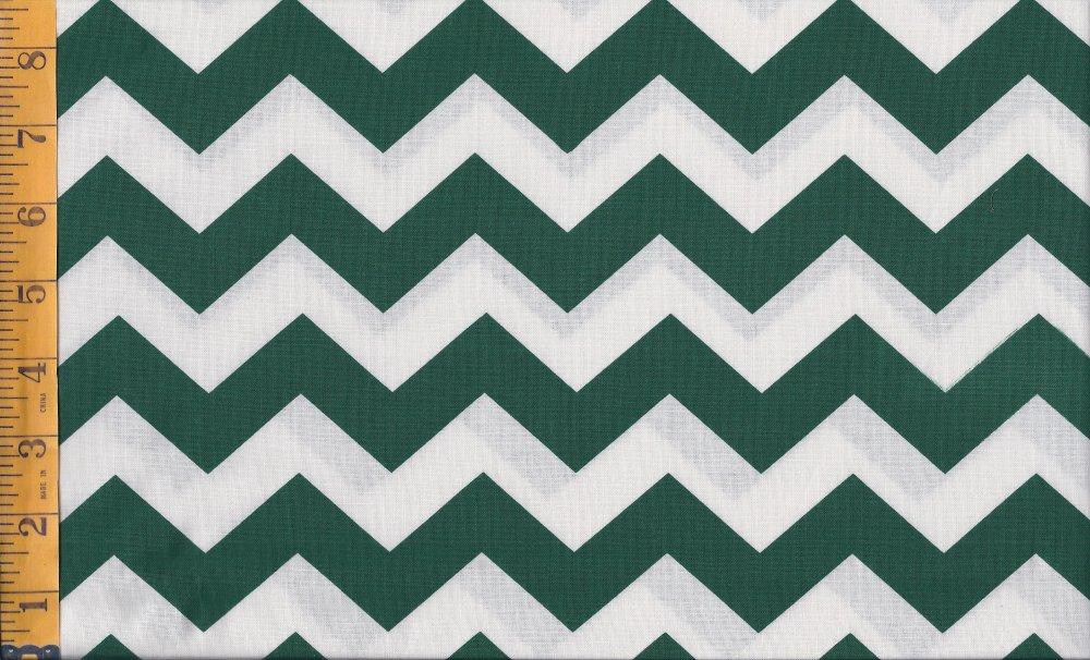 Dark Green And White Pattern