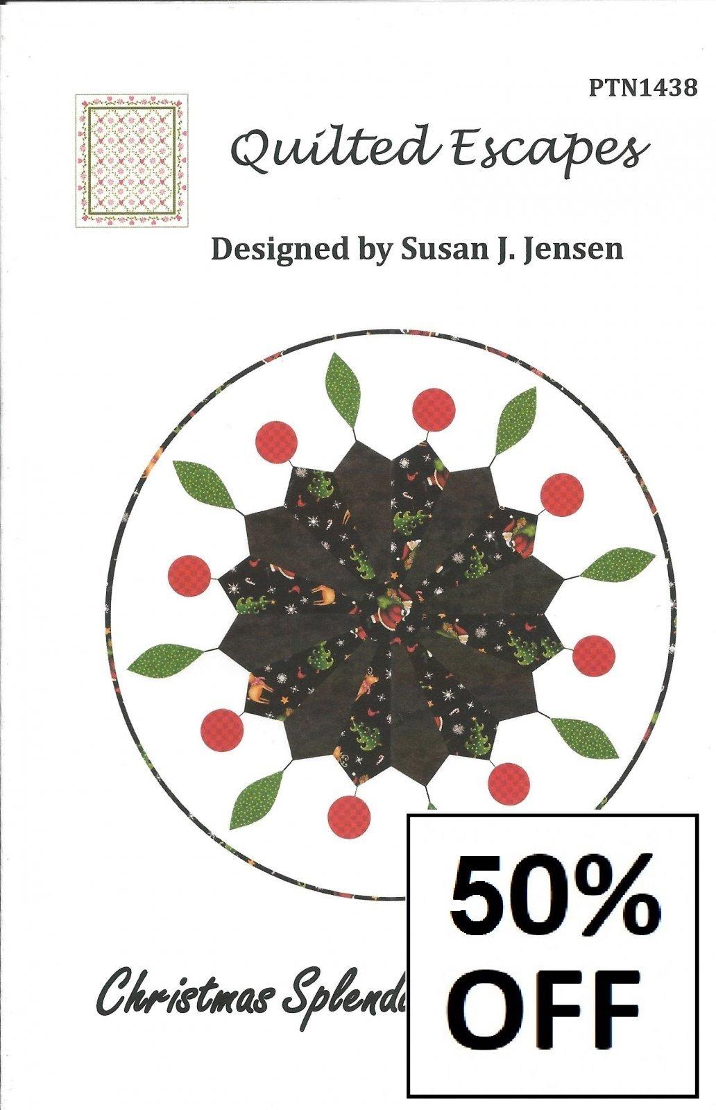 Christmas Splendor Table Topper - 50% off
