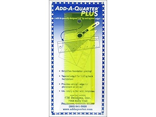 Add-A- Quarter Plus Ruler - 6 inch