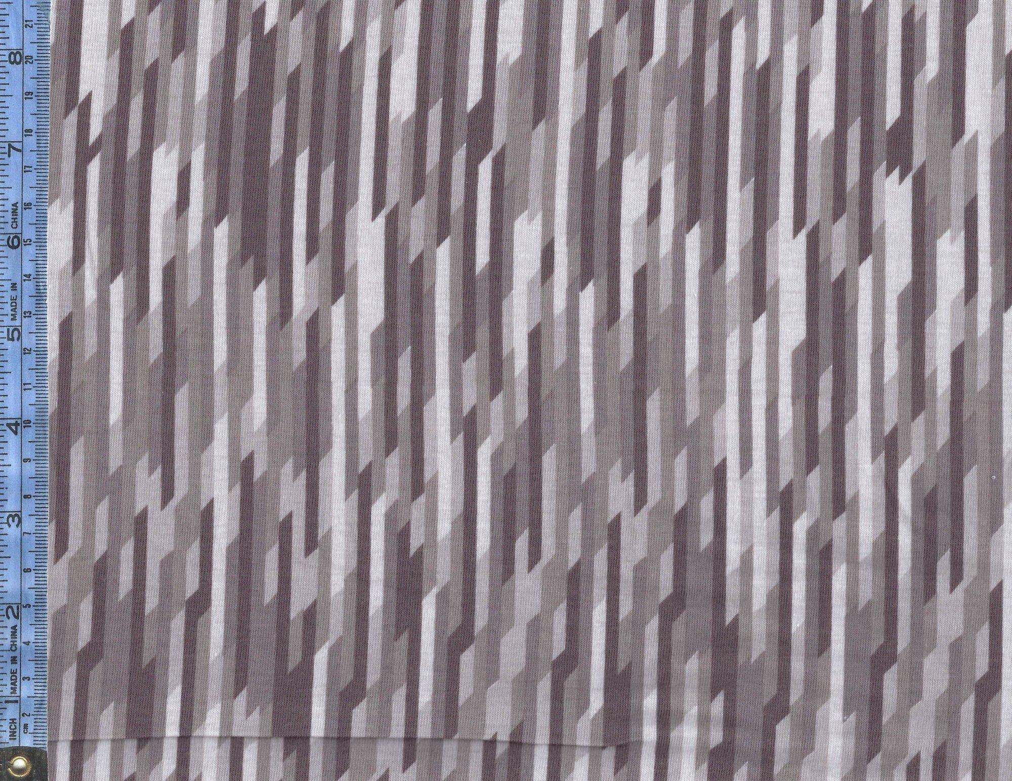 Desert Bloom - (K5356-gray) Jersey Knit