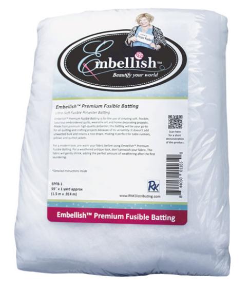 Embellish - Premium Fusible Batting