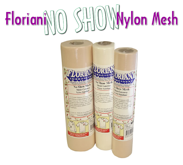 Floriani's No Show Nylon Mesh